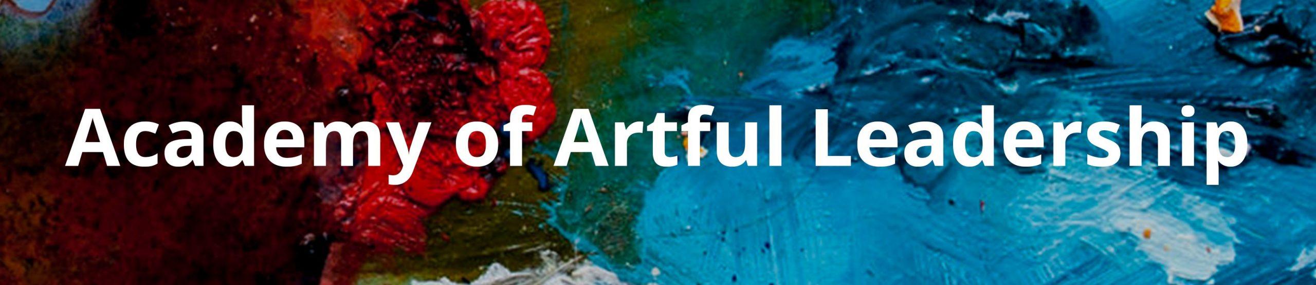 Academy of Artful Leadership Program watercolor header graphic